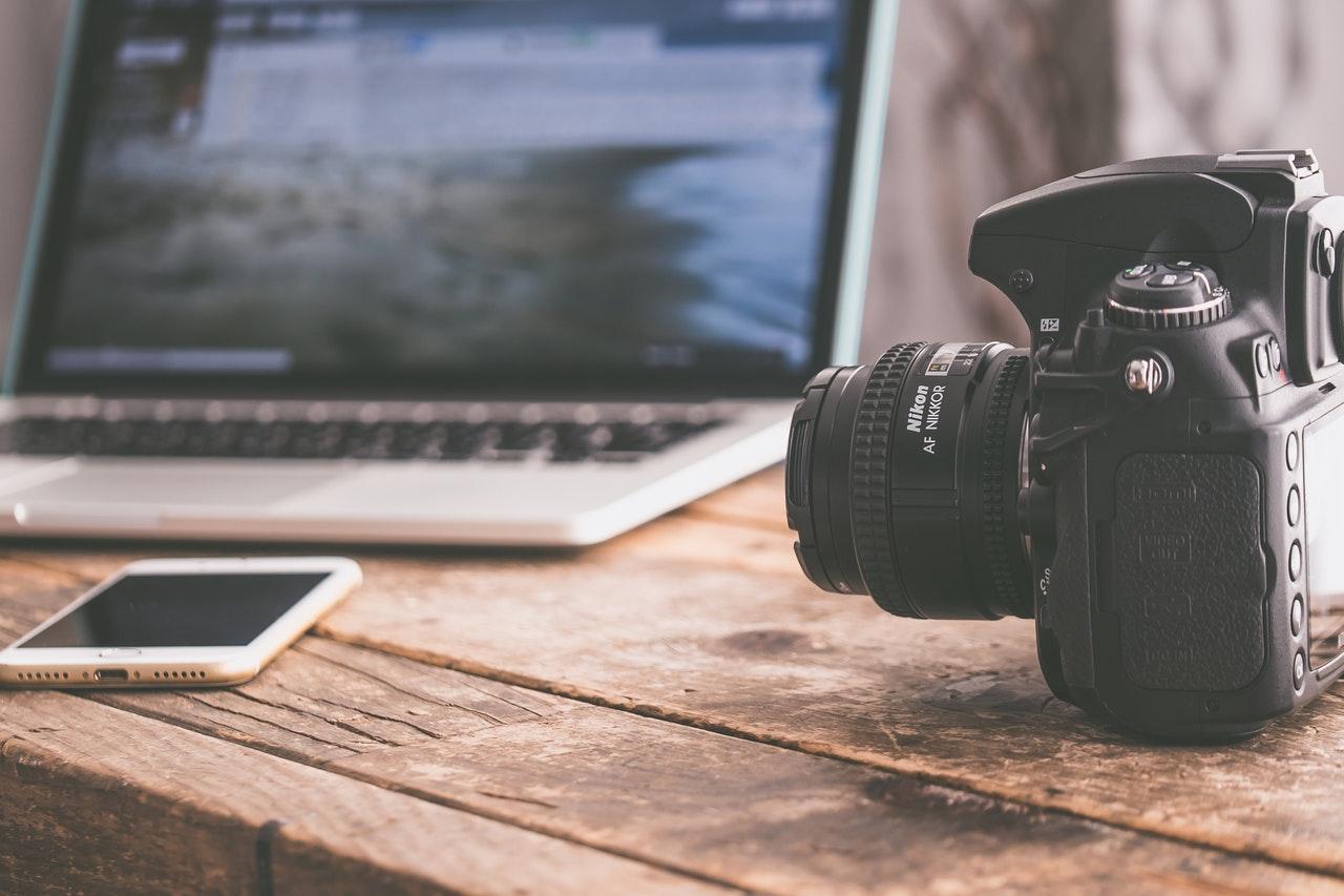 kamera og fotograf
