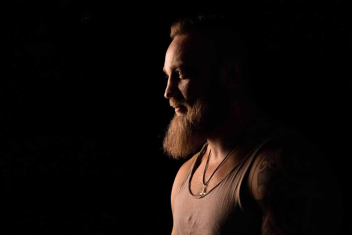 foto mand i studio