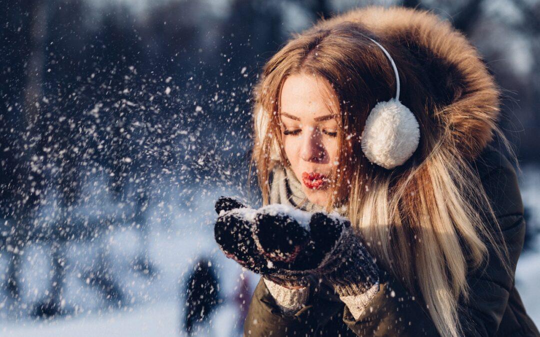 Vinter stemning i Photoshop