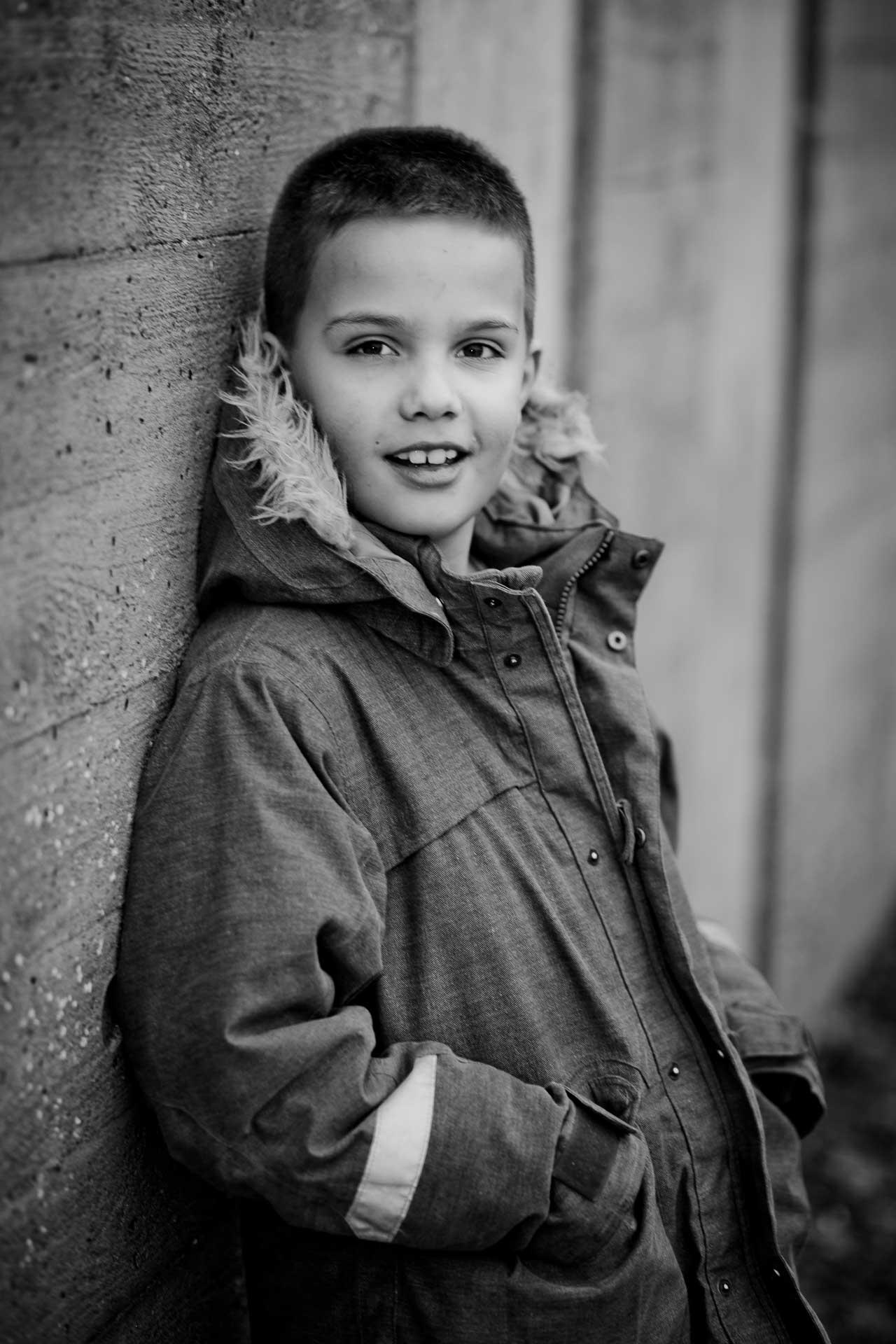 PORTRÆTFOTO af Børn Fredericia