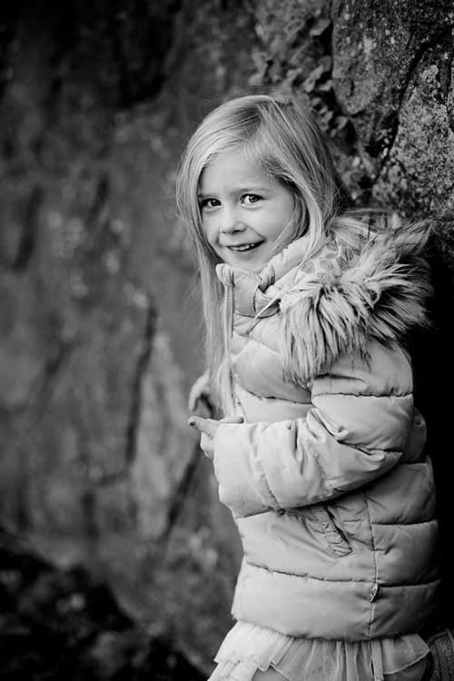 portrætter af børn